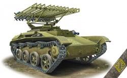 BM-8-24 Katiusha on T-60 chassis