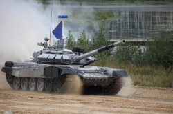 Russian T-72B3M MBT