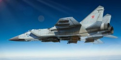 Russian MiG-31 Foxhound