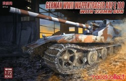 German WWII E-100 panzer weapon carrier with 128mm gun