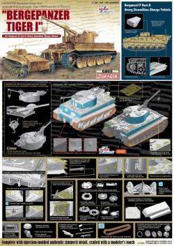 """Bergepanzer Tiger I"" mit Borgward IV Ausf.A Heavy Demolition Charge Vehicle"