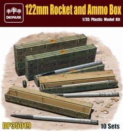 122 mm Rocket and Ammo Box