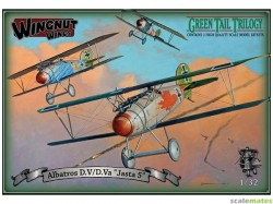 """Albatros D.V/D.Va """"Jasta 5"""" Green Tail Trilogy set (includes 3x models)"""