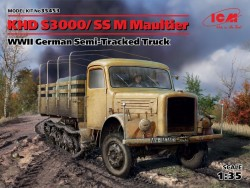 KHD S3000/SS M Maultier WWII German Semi-Tracked Truck