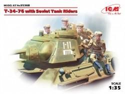 T-34-76 with Soviet Tank Riders