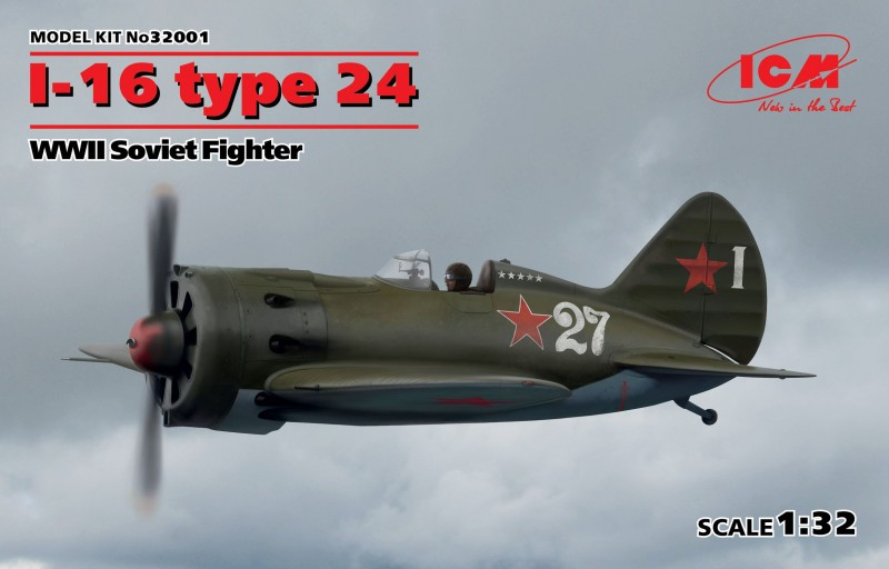 I-16 type 24 WWII Soviet Fighter