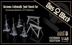 Luftwaffe Jack Stand Set with Saw Horses (Extended)