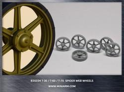 T-30/T-60/T-70 Spider web wheels 12pcs