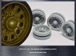 T-34/85 Spider web road wheels set (late version)
