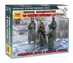 German Headquarters in winter uniform