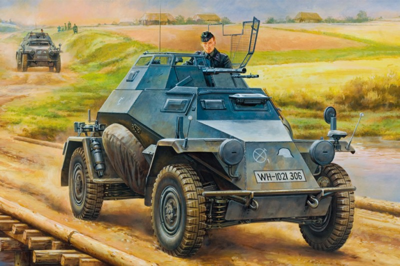 German Leichter Panzerspahwagen(2cm)Mid Version