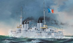 French Navy Pre-Dreadnought Battleship Condorcet