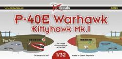 P-40E Warhawk, Kittyhawk Mk.I