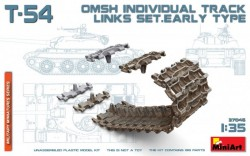 T-54 OMSh Individual Track Links Set. Early Type