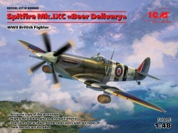 "Spitfire Mk.IXC ""Beer Delivery"" WWII British Fighter"