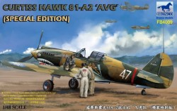 Curtiss Hawk 81-A2 AVG (Special Edition with 3 resin figs + 1:1 patch)