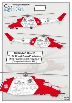 Mil Mi-24V Hind-E ''U.S. Coast Guard'