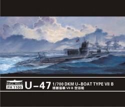 """U-47 Prien"""" U-Boat Type VII B (2 set)"""