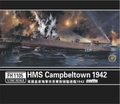 HMS Campbeltown 1942