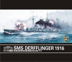 German Battlecruiser Derfflinger 1916