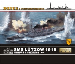 SMS Luetzow 1916 w/G37 Class GroBes Torpedeboot