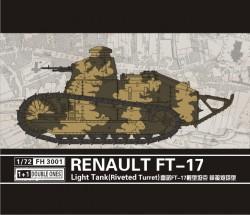 Renault FT-17 light tank (Riveted turret) 2 pcs