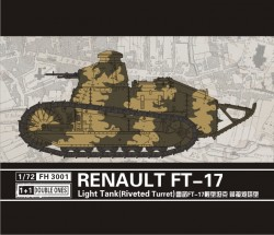 Renault FT-17 light tank (Riveted turret) 2 pcs