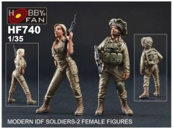 Modern IDF Soldiers-2 Female Figures