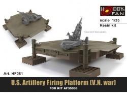 U.S.Artillery Firing Platform(V.N.War)