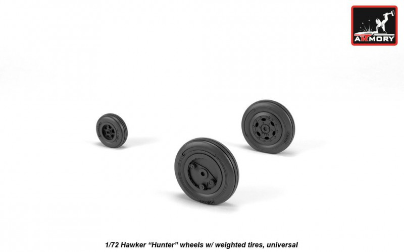"""Hawker """"Hunter"""" weighted wheels"""