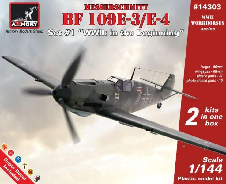 """Messerschmitt Bf 109E """"WWII: in the beginning"""""""