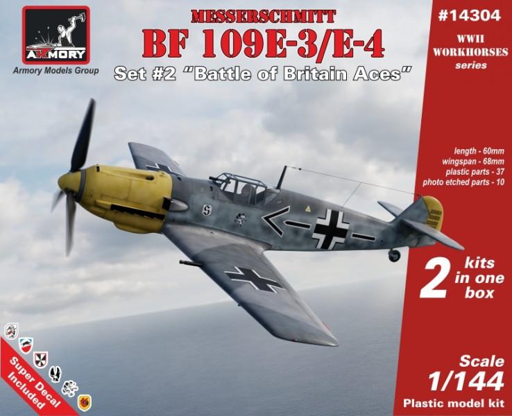 """Messerschmitt Bf 109E """"Battle of Britain Aces"""""""