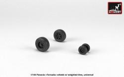 "Panavia ""Tornado"" wheels, weighted"