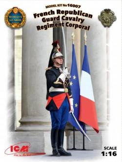 French Republican Guard Cavalry Regiment Corporal