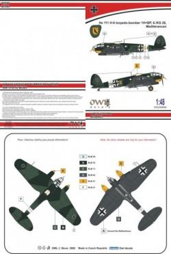He 111 H-6 night torpedo-bomber