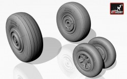 Mikoyan МiG-23ML,MLA,MLD,P(late),UM wheels