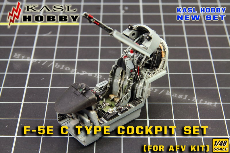 F-5E TIGER II C Type Cockpit Set Ejection Seat [Improved]