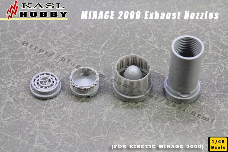 MIRAGE 2000 Exbaust Nozzle