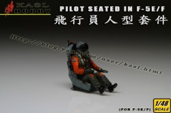 Pilot Seated In F-5E/F (1 Kits)