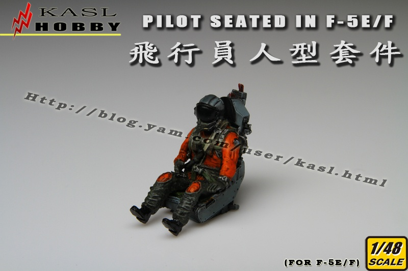 Pilot Seated In F-5E/F (2 Kits)