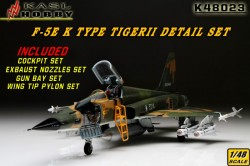 F-5E TIGER II K Type Detail Set (Early type For AFV CLUB)