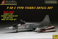 F-5E TIGER II C Type Detail Set (Late type For AFV CLUB)