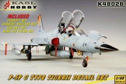F-5F TIGER II C Type Detail Set (Late type For AFV CLUB)