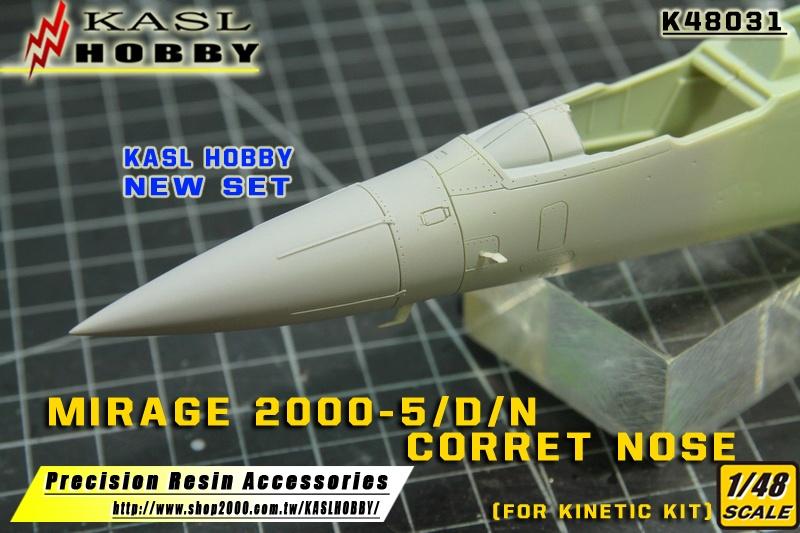 Mirage 2000-5 D/N Correct Nose