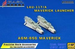 AGM-65G Maverick & LAU-117  (2 Kits)