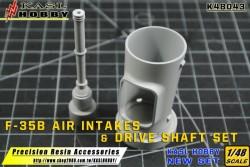 F-35B Air Intakes & Drive Shaft Set