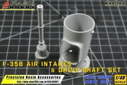 F-35B Air Intakes & Drive Shaft Set