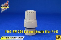 F-16 F100-PW-200/220 Exhaust Nozzle (Kinetic)