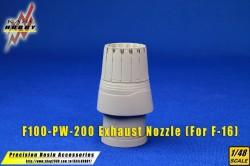 F-16 F100-PW-200/220 Exhaust Nozzle (Kinetic)