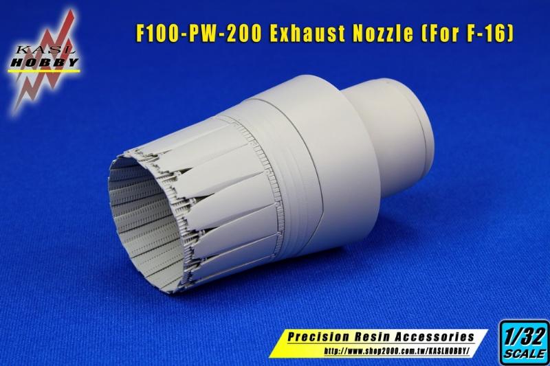 F-16 F100-PW-200/220 Exhaust Nozzle (Academy)